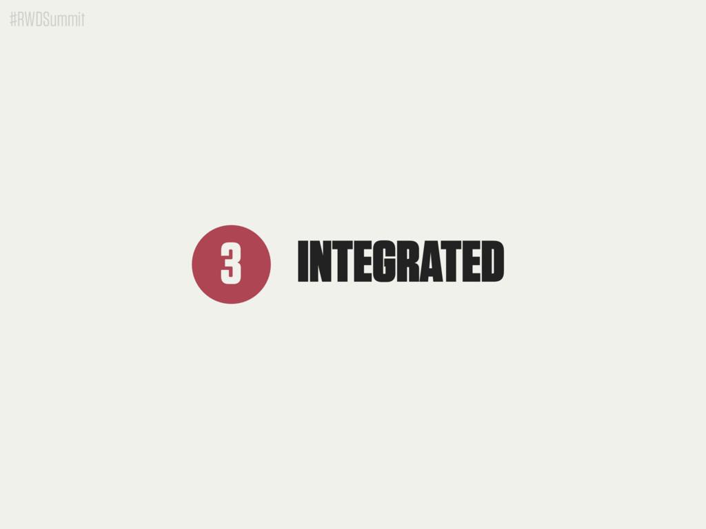 #RWDSummit INTEGRATED 3
