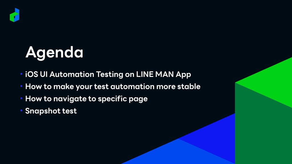 • iOS UI Automation Testing on LINE MAN App • H...