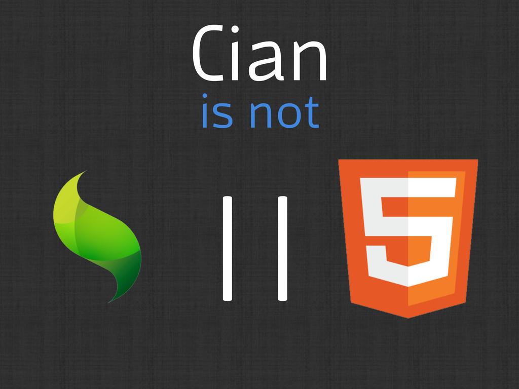 Cian is not ||