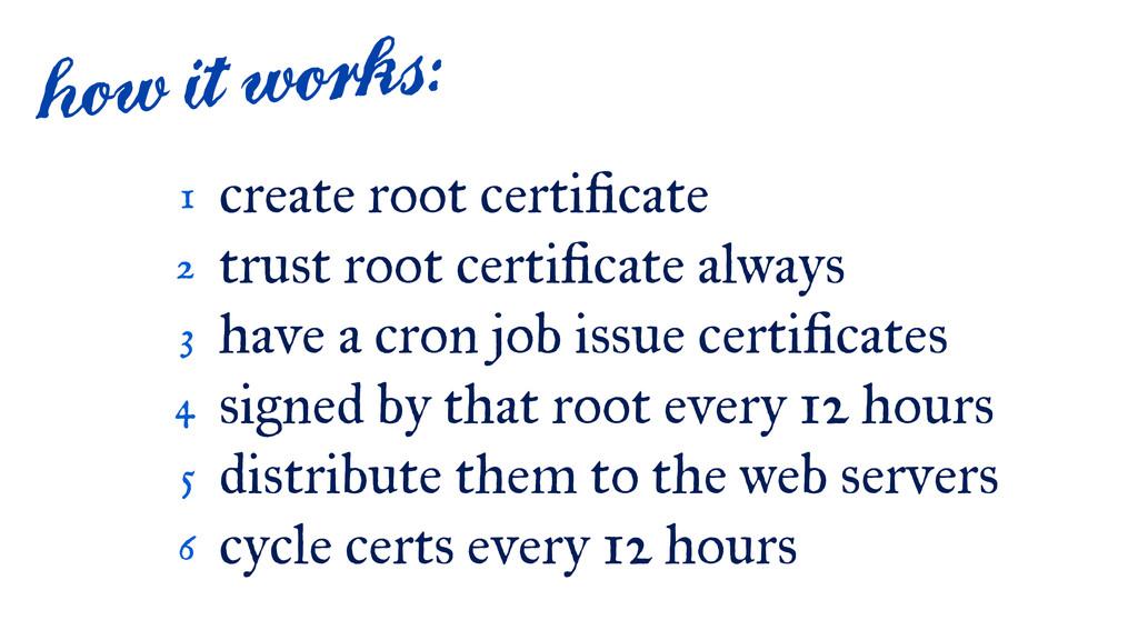 create root certi cate trust root certi cate al...