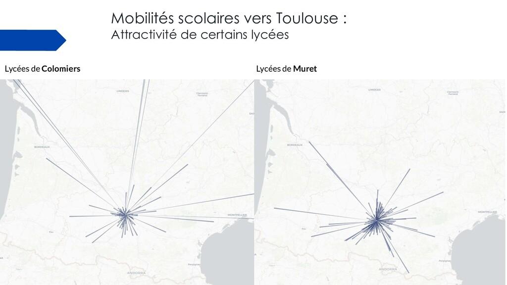 Mobilités scolaires vers Toulouse : Attractivit...