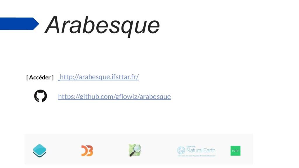 Arabesque ● Arabesque, application libre de car...