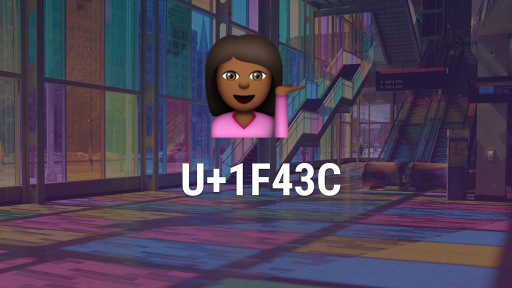 ) U+1F43C