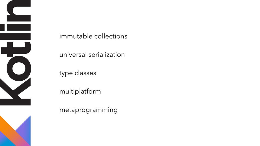 immutable collections universal serialization t...