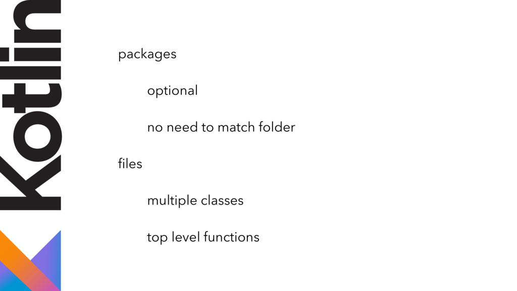 packages optional no need to match folder files ...