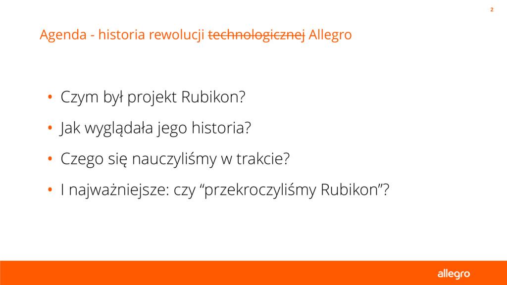 Agenda - historia rewolucji technologicznej All...