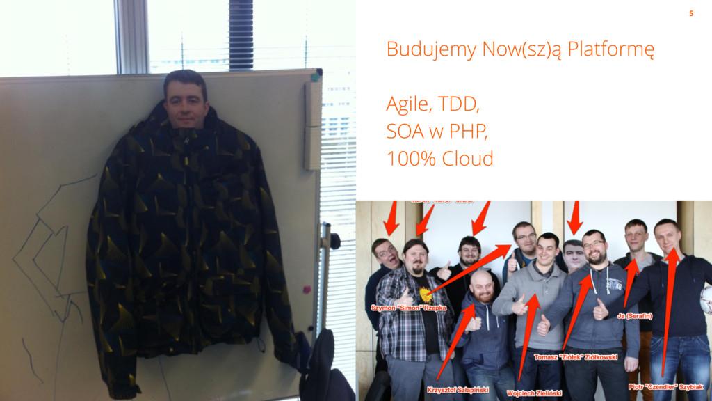 Budujemy Now(sz)ą Platformę Agile, TDD, SOA w P...