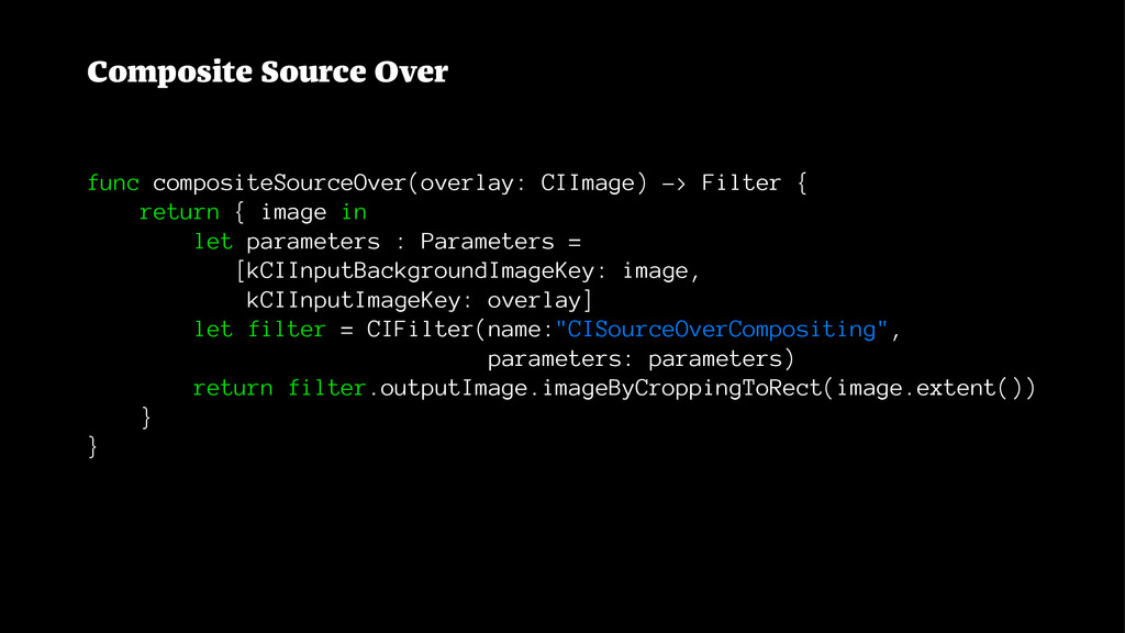 Composite Source Over func compositeSourceOver(...