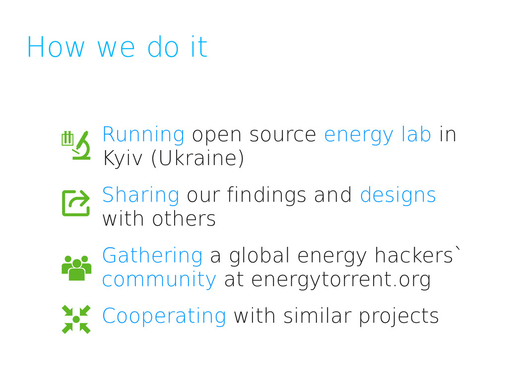 How we do it Running open source energy lab in ...