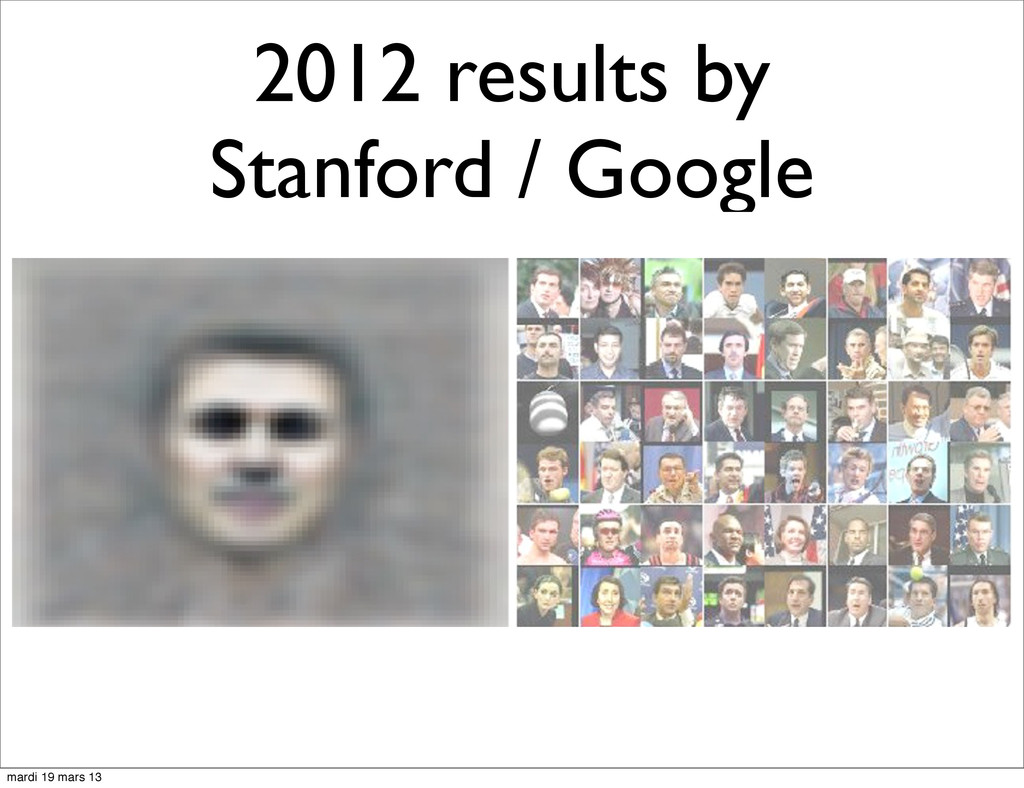2012 results by Stanford / Google mardi 19 mars...