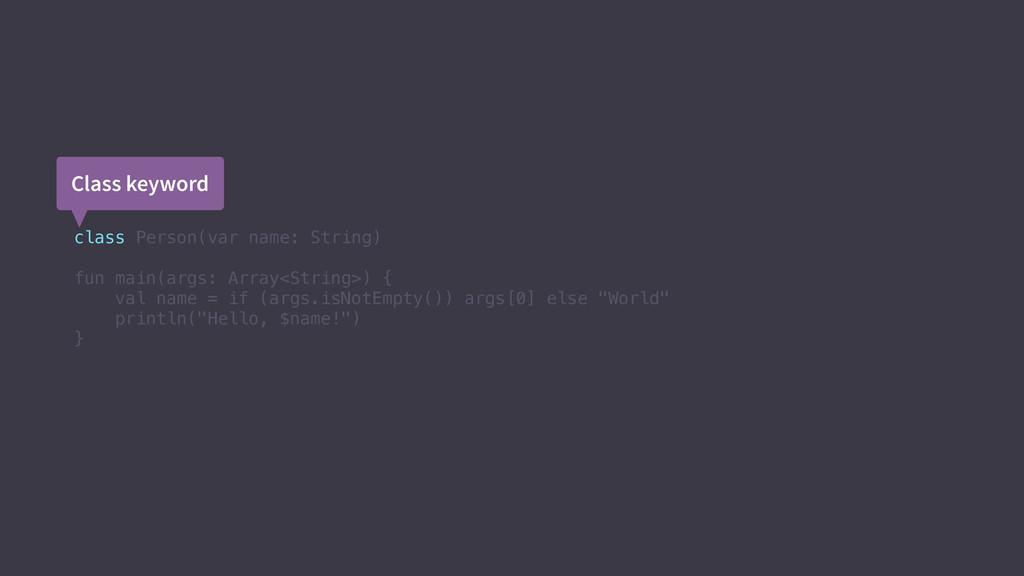 class Person(var name: String) fun main(args: A...