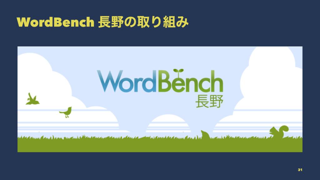WordBench ͷऔΓΈ 31