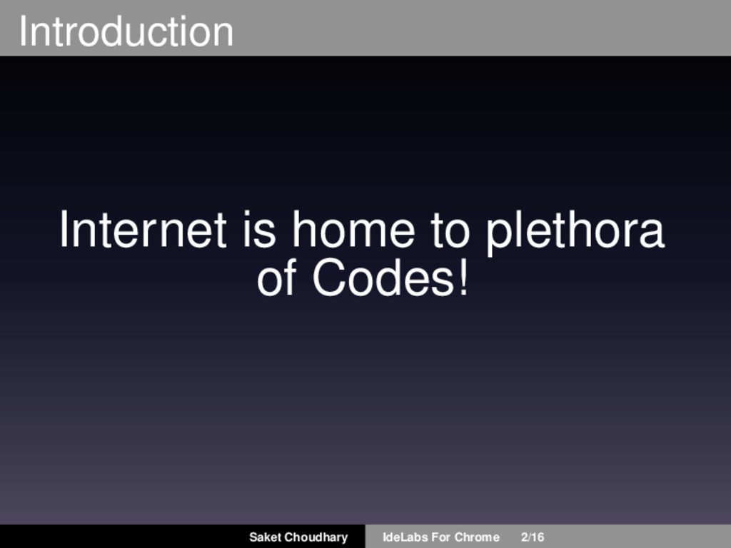 Introduction Internet is home to plethora of Co...