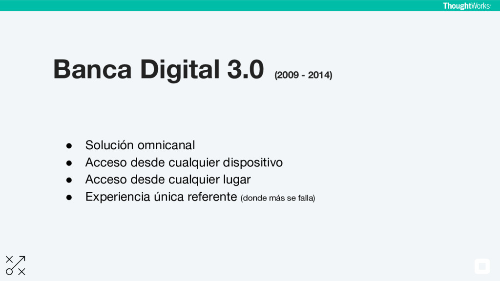 Banca Digital 3.0 (2009 - 2014) ● Solución omni...