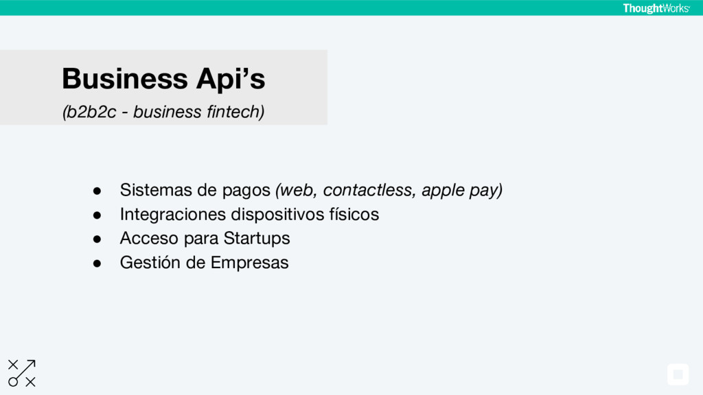 ● Sistemas de pagos (web, contactless, apple pa...