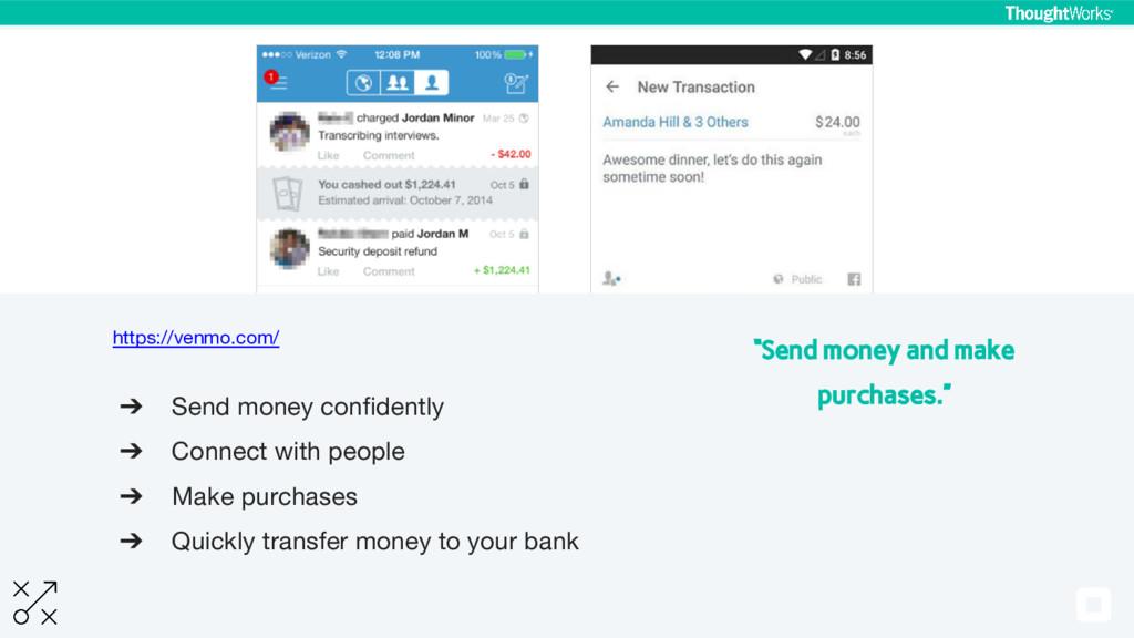 https://venmo.com/ ➔ Send money confidently ➔ C...