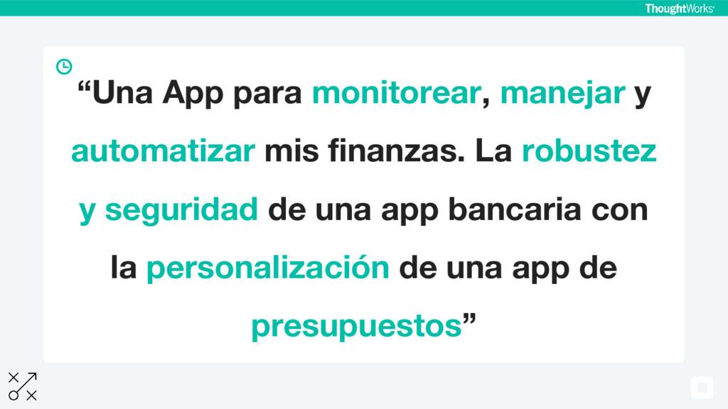 """""""Una App para monitorear, manejar y automatizar..."""