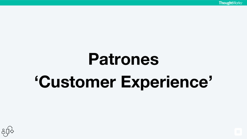 Patrones 'Customer Experience'