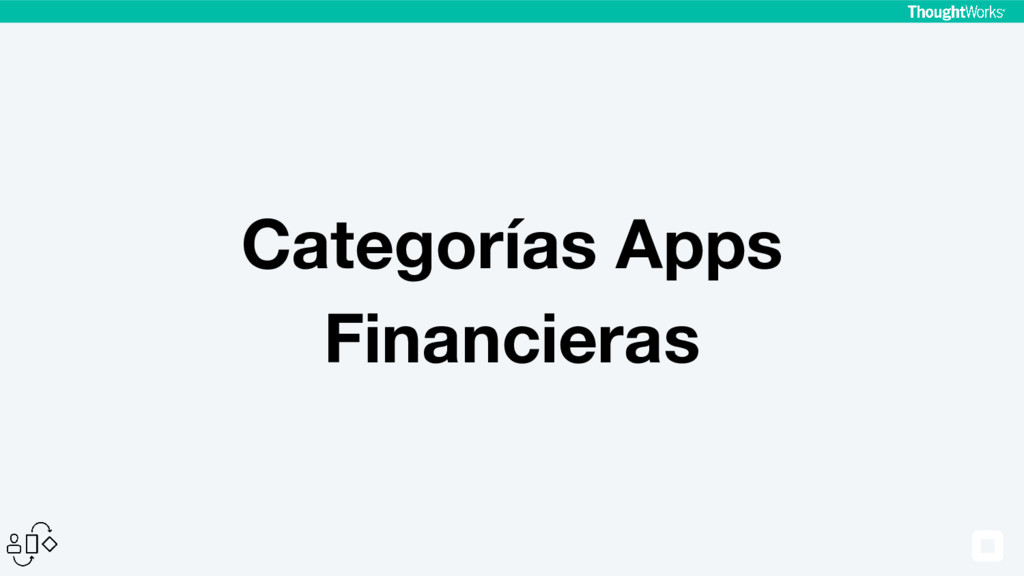Categorías Apps Financieras