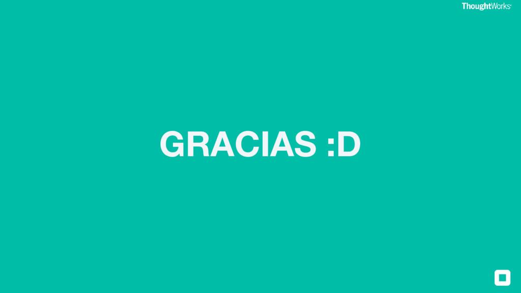 GRACIAS :D