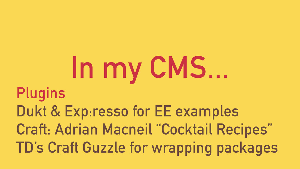 In my CMS... Plugins Dukt & Exp:resso for EE ex...