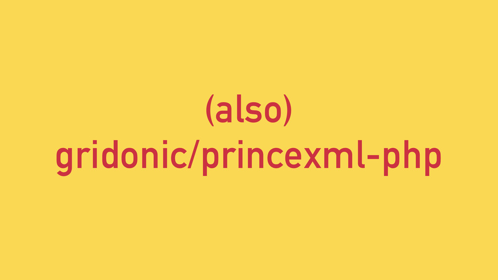 (also) gridonic/princexml-php