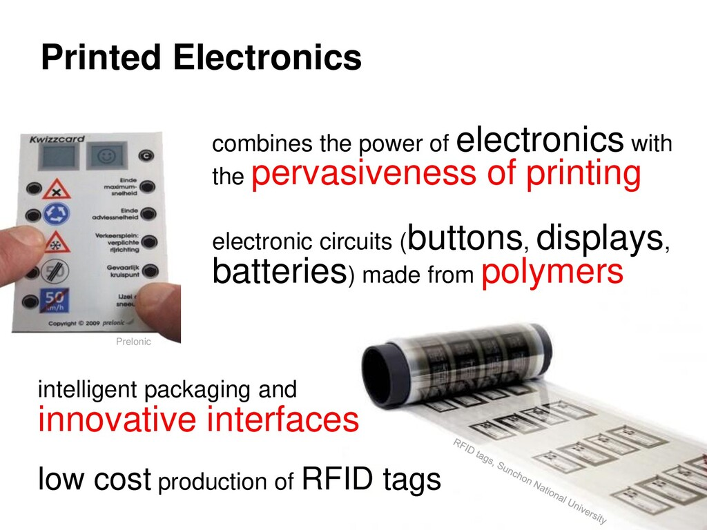 Printed Electronics Prelonic combines the power...