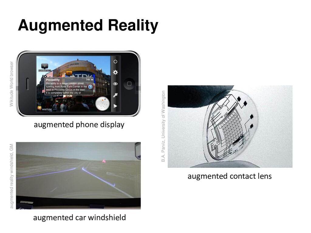 Augmented Reality augmented contact lens augmen...