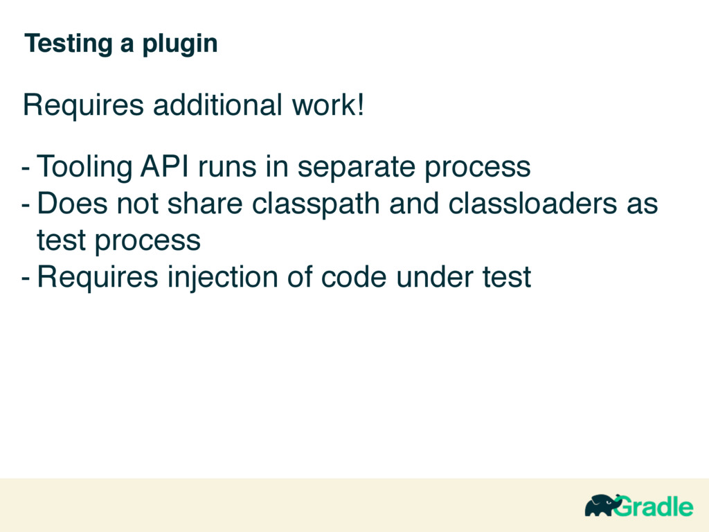Testing a plugin - Tooling API runs in separate...
