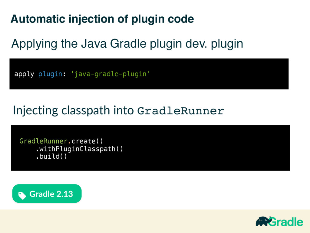 Automatic injection of plugin code Applying the...