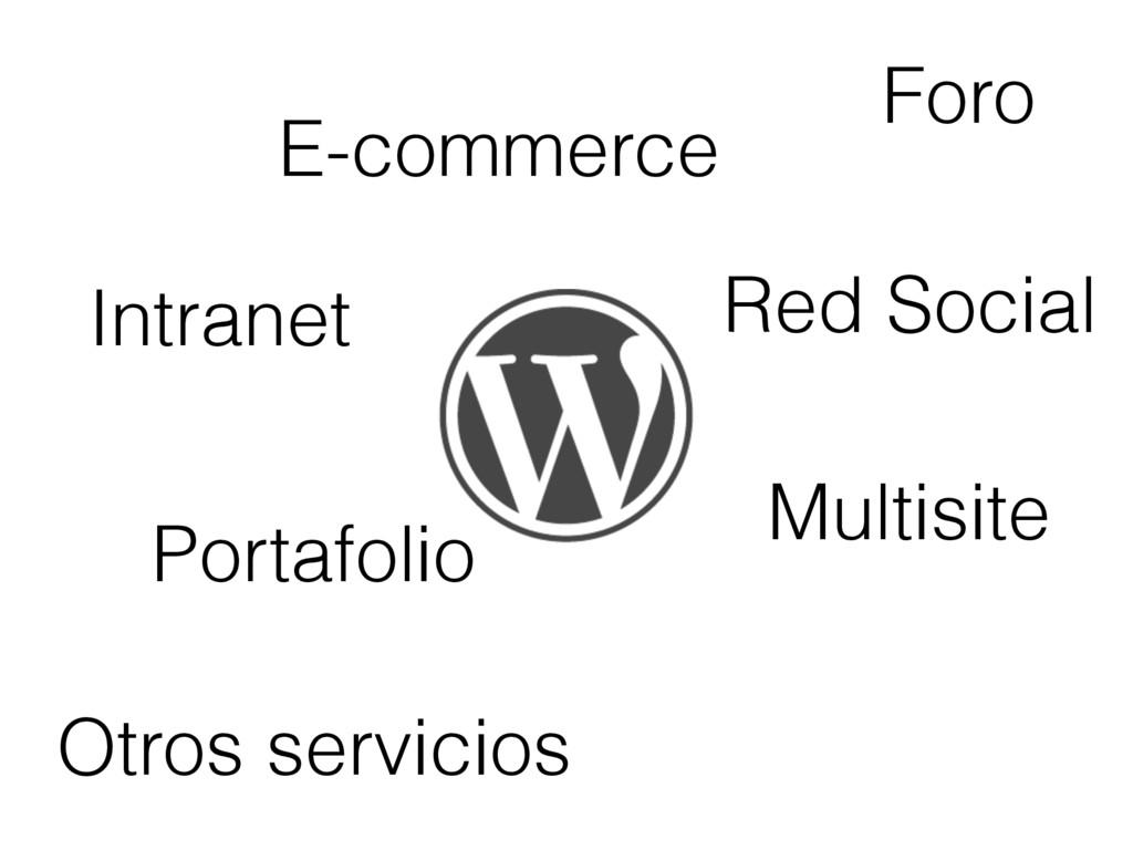 E-commerce Red Social Foro Portafolio Intranet ...