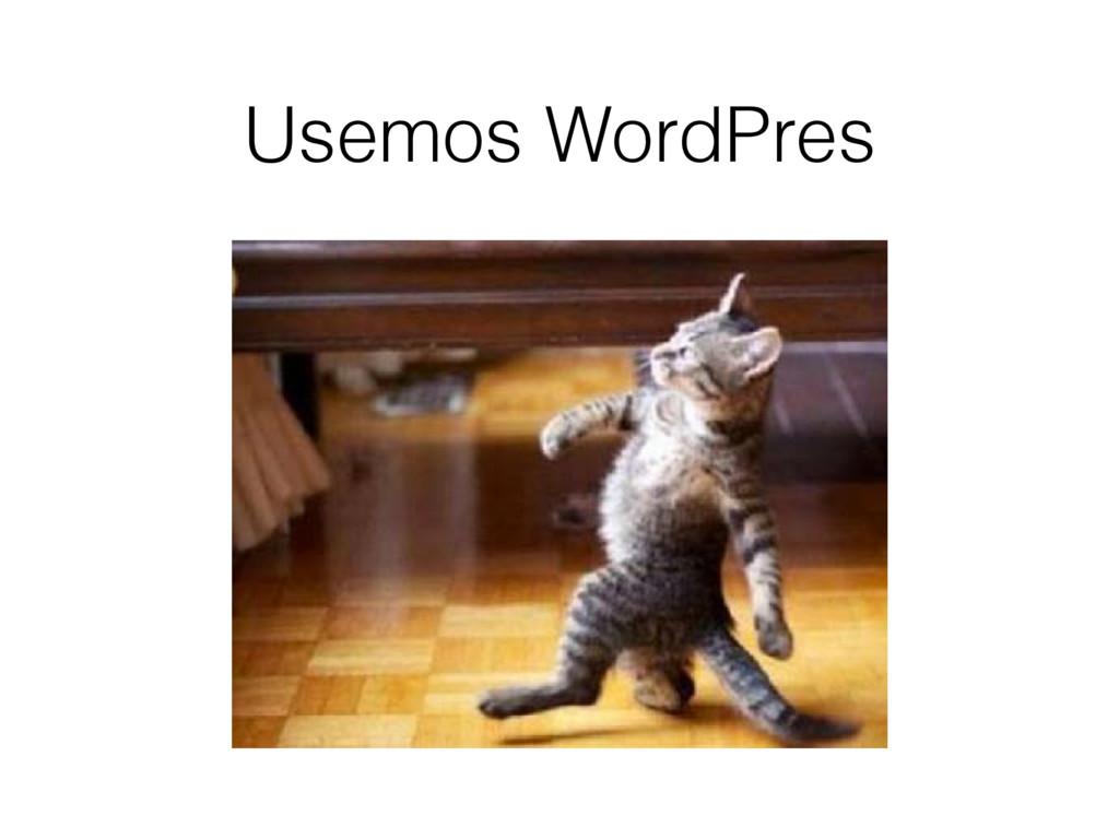 Usemos WordPres
