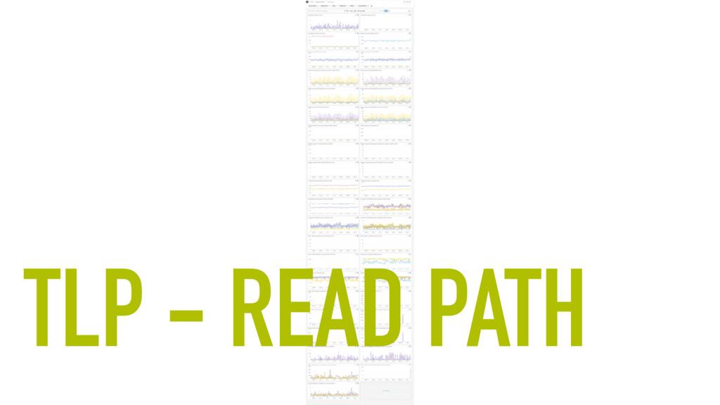 TLP - READ PATH