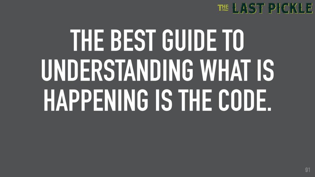 91 THE BEST GUIDE TO UNDERSTANDING WHAT IS HAPP...