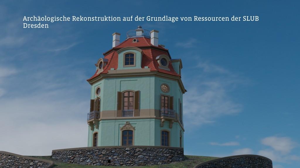 Archäologische Rekonstruktion auf der Grundlage...