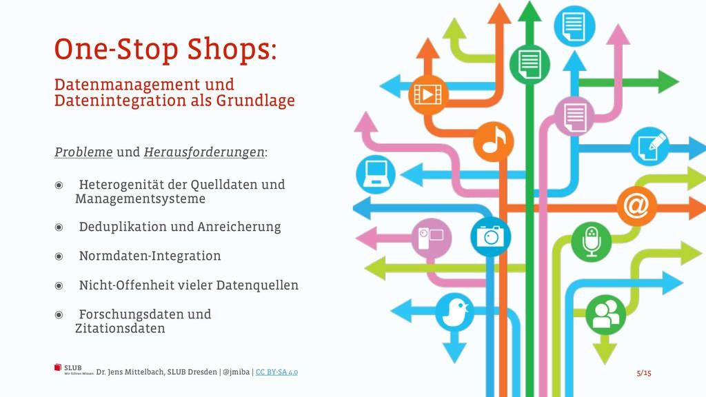One-Stop Shops: Datenmanagement und Datenintegr...