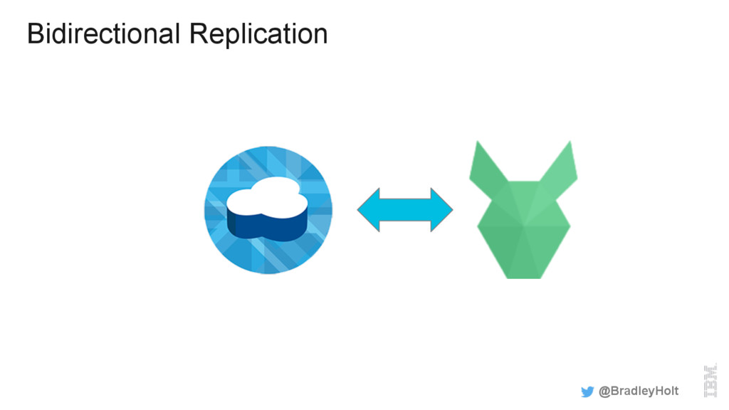 Bidirectional Replication @BradleyHolt