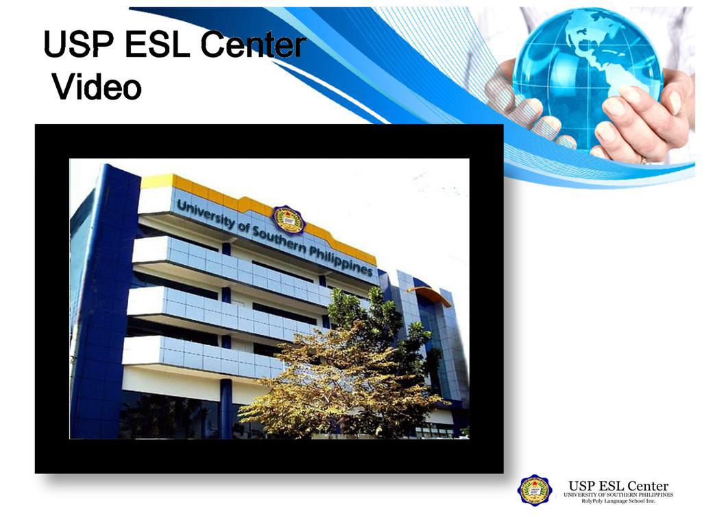 USP ESL Center Video