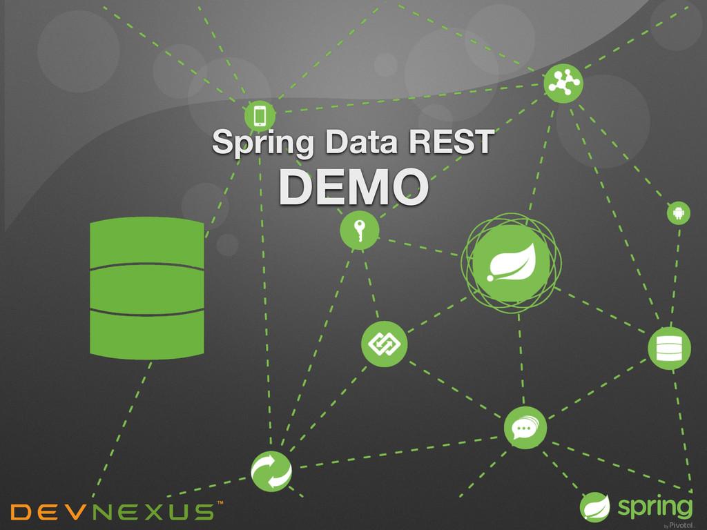 Spring Data REST DEMO
