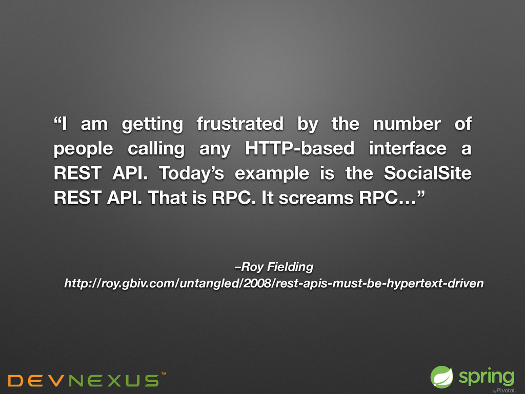 """""""I am getting frustrated by the number of peopl..."""