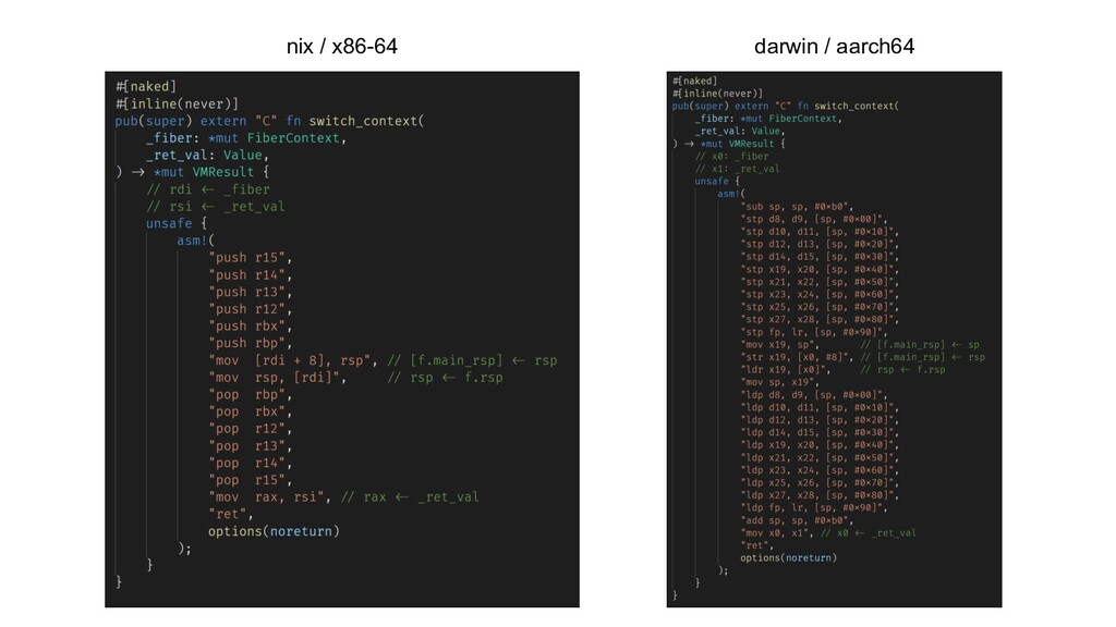 nix / x86-64 darwin / aarch64
