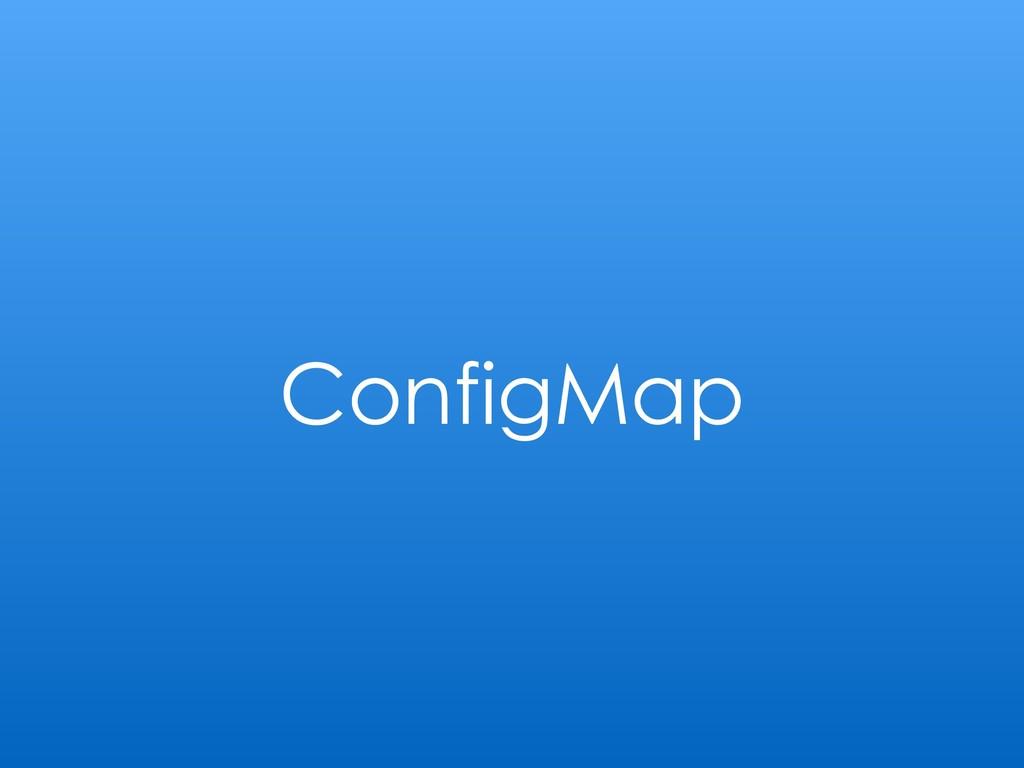 ConfigMap