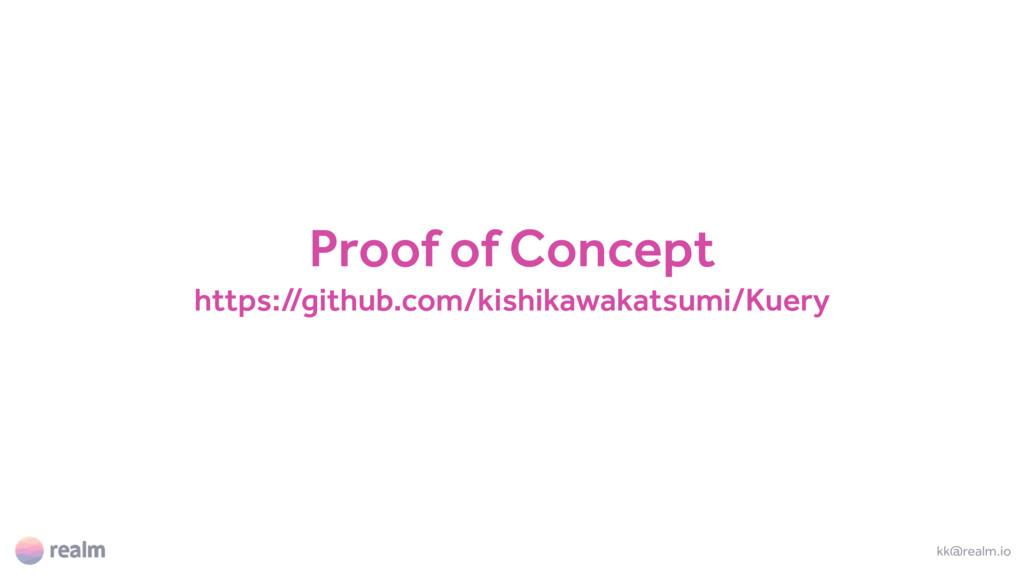 Proof of Concept https://github.com/kishikawaka...