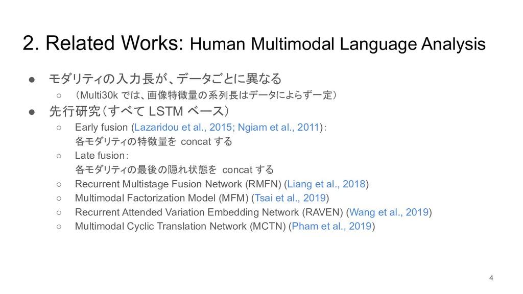 2. Related Works: Human Multimodal Language Ana...