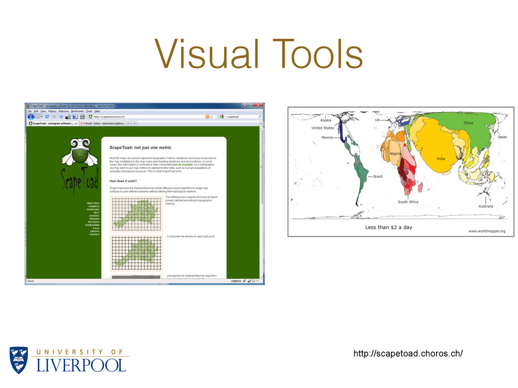 Visual Tools http://scapetoad.choros.ch/