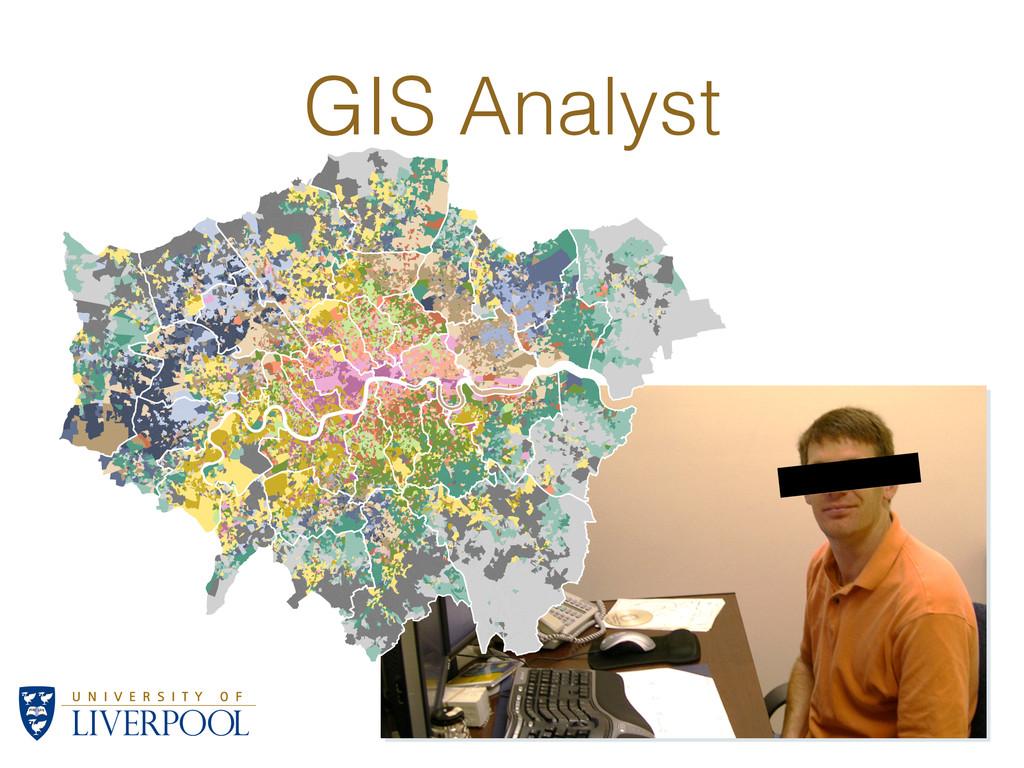 GIS Analyst A1: Struggling suburbs A2: Suburban...