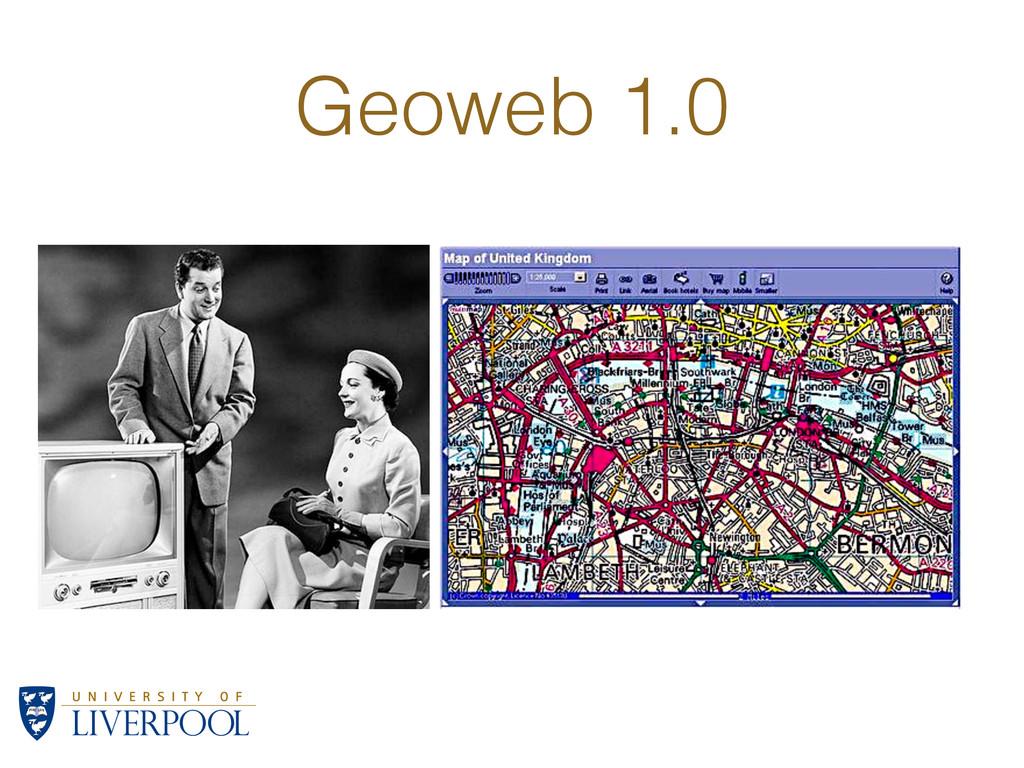 Geoweb 1.0