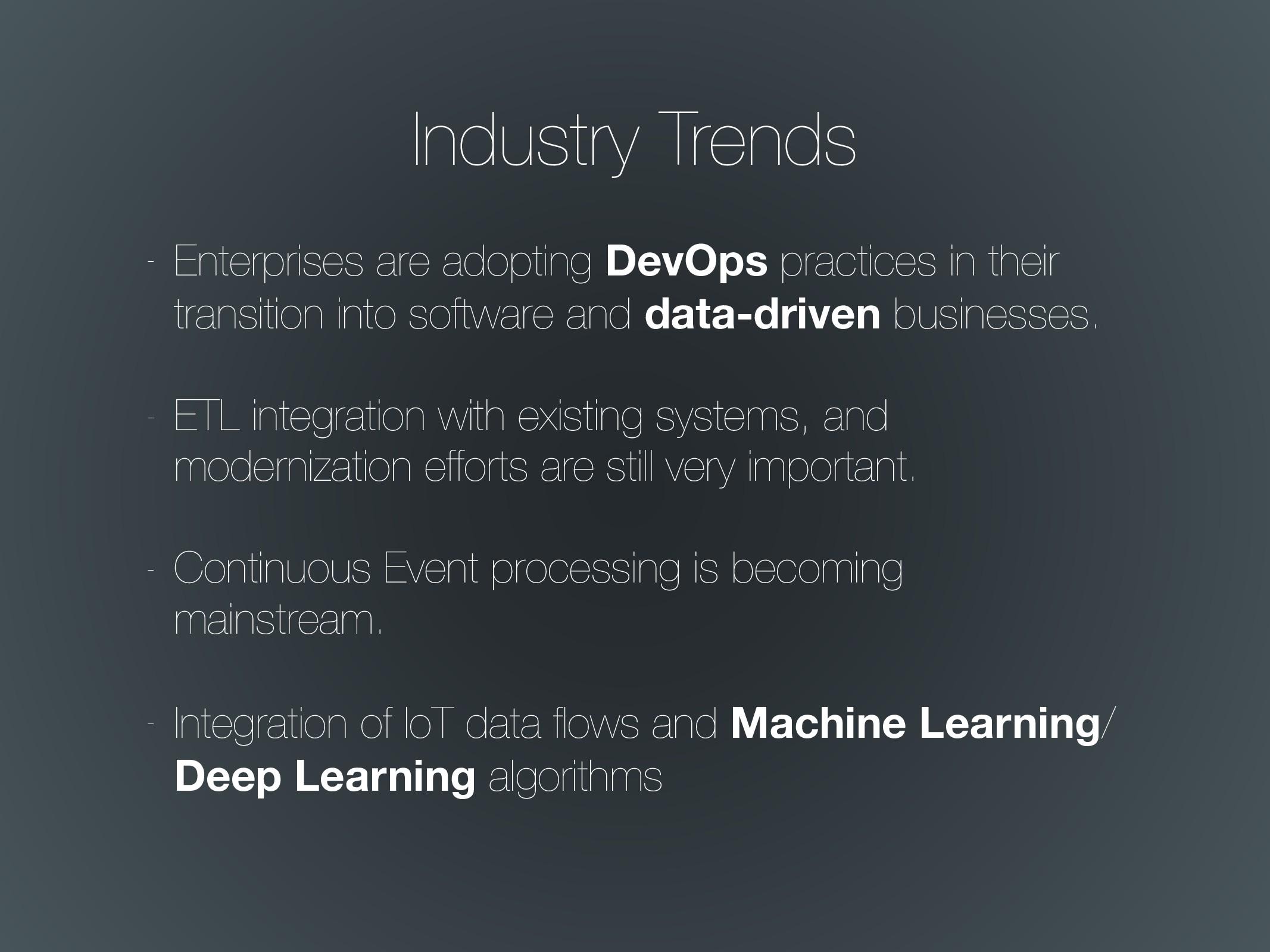 Industry Trends - Enterprises are adopting DevO...