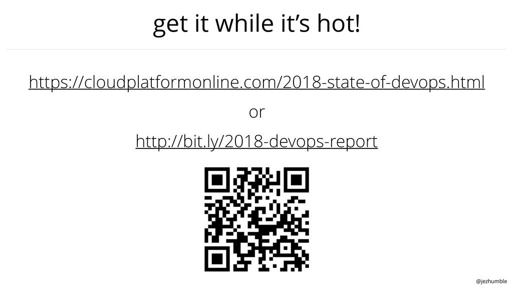 @jezhumble get it while it's hot! https://cloud...
