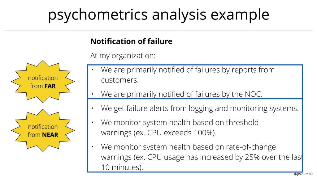 @jezhumble psychometrics analysis example Notifi...